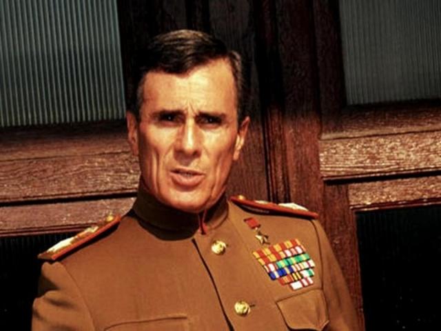 Гойко часто воплощает на экране образы героев русских по национальности.