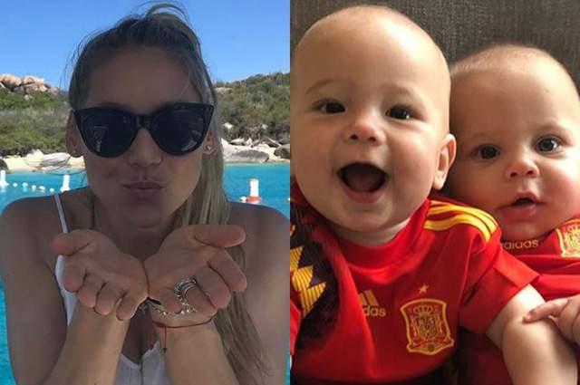 В декабре 2017-го у четы Иглесиасов появились дети, двойняшки Люси и Николас.
