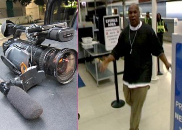 Майк Тайсон. В 2009 году бывшего чемпиона мира в тяжелом весе рискнул преследовать фотограф, причем по всему Международному аэропорту Лос-Анджелеса.