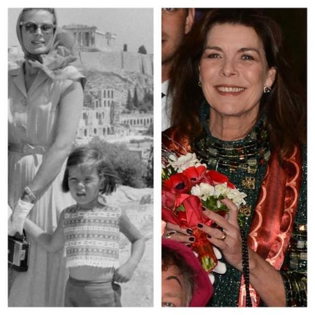 Грейс Келли. Голливудская звезда и княгиня Монако была матерью троих детей. Старшая дочь Грейс, Каролин, принцесса Ганноверская, занимается благотворительностью и защитой прав человека.