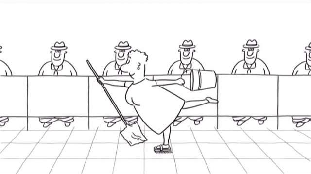"""Константин Бронзит, """"Уборная история - любовная история"""" (2007). В 2009 году приз за создание лучшей анимационной короткометражки забрал Кунио Като и его """"Дом маленьких кубов"""", но мультфильм российского режиссера вышел очень забавным и понравился зрителям."""