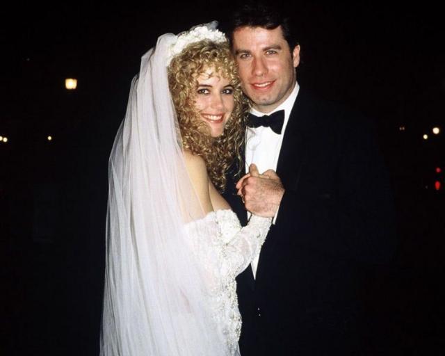 Джон Траволта и Келли Престон поженились в 1991 году.