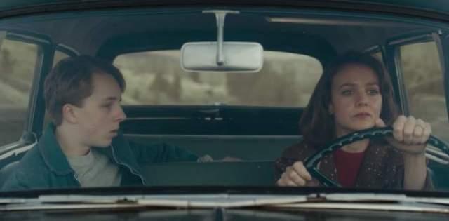 """Но ей пришлось однажды немного порулить на съемочной площадке фильма """"Не отпускай меня""""."""