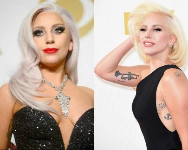 Леди Гага Как выглядит на фото с подготовкой.