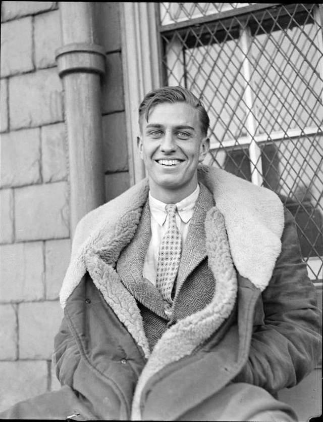Франклин Д. Рузвельт-младший, 17 августа 1914 - 17 августа 1988. Сын президента Франклина Делано Рузвельта и Элеоноры Рузвельт был при жизни известным адвокатом.