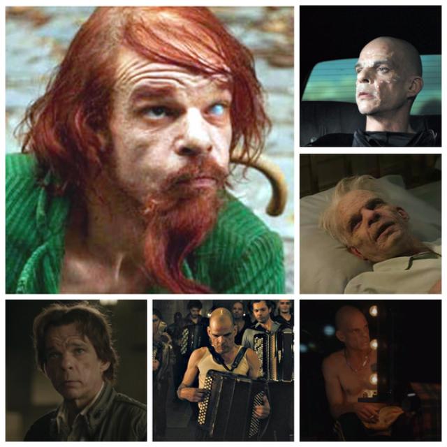 """Дени Лаван, """"Корпорация """"Святые моторы"""" (2012). Неведомое существо по сюжету картины перемещается из жизни в жизнь. Обретает форму то мужчины, то женщины, то юноши, то умирающего старика."""