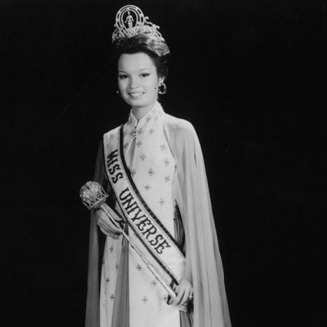 Мария Маргарита Моран, Филиппины. «Мисс Вселенная — 1973». 20 лет, рост 168 см.