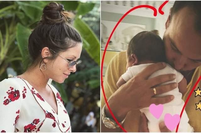 Анна Шурочкина (Нюша), ноябрь. Певица впервые стала мамой в 2018 году. Они с мужем Игорем Сивовым назвали новорожденную, по слухам, Серафимой.