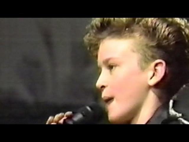 Джастин с детства мечтал стать звездой. Его кумиром был Майкл Джексон, которому он всячески старался подражать.