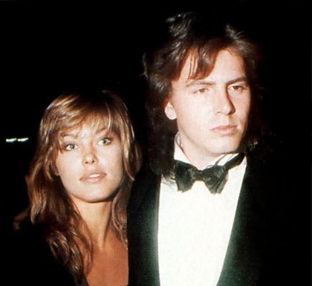 Рене Симонсен. Модель встречалась с басистом Duran Duran Джоном Тейлором в 80-х.