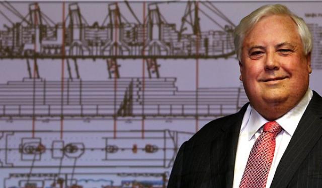 """Клайв Палмер , австралийский владелец успешной добывающей компании, известный своими странными и грандиозными идеями. В 2012 году он обвинил """"Гринпис"""" в сговоре с ЦРУ с целью навредить австралийской горнодобывающей промышленности. В течение некоторого времени Палмер вкладывал немалые средства в клонирование динозавров, чтобы с их помощью привлечь гостей в свой 5-звездочный курорт """"Palmer Coolum Resort""""."""