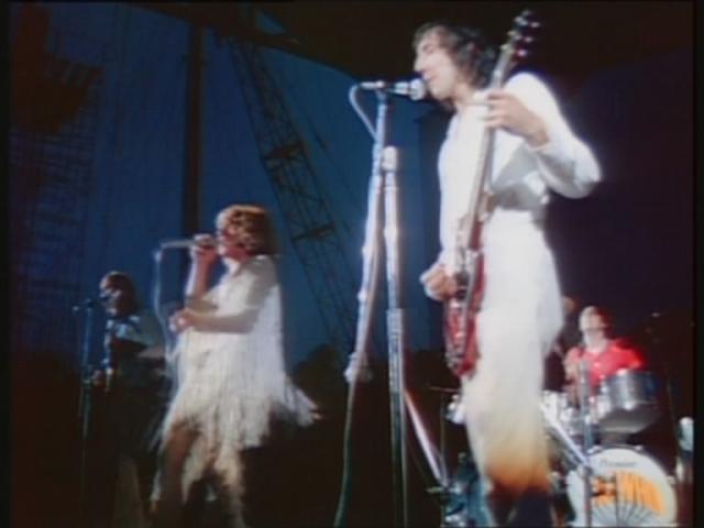 Одним из самых запоминающихся выступлений The Who было исполнение песни See Me, Feel Me: солнце взошло, как только солист Роджер Долтри начал петь.