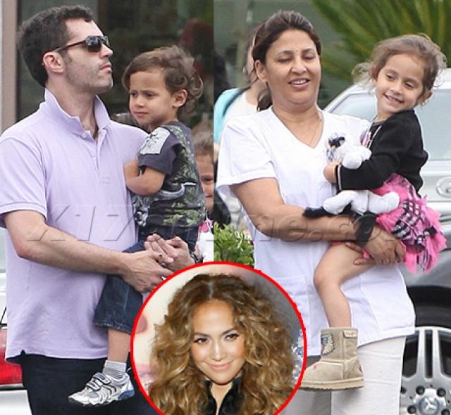 Няни в ее звездном семействе находятся с детьми 16 часов в сутки, семь дней в неделю, без отдыха, при этом Джей Ло, если находится рядом дает им и дополнительные поручения.