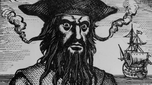 Известно, что в свою бороду он вплетал фитили, которые, дымясь, наводили ужас на противников.
