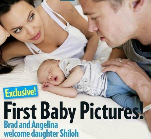 27 мая 2006 года на свет появилась родная дочь Джоли и Питта Шайло. Брэд присутствовал при родах.