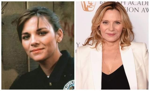 """Ким Кэттролл, 62 года - курсант Карен Томпсон. Сегодня актриса известна зрителям далеко не по роли в """"Полицейской академии"""" - она прославилась как Саманта Джонс из """"Секса в большом городе""""."""