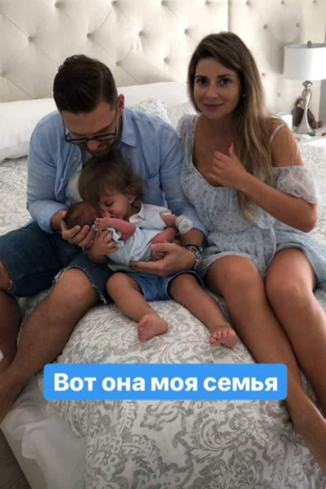 Галина Юдашкина, март. Дочь известного кутюрье назвала второго ребенка Аркадием.