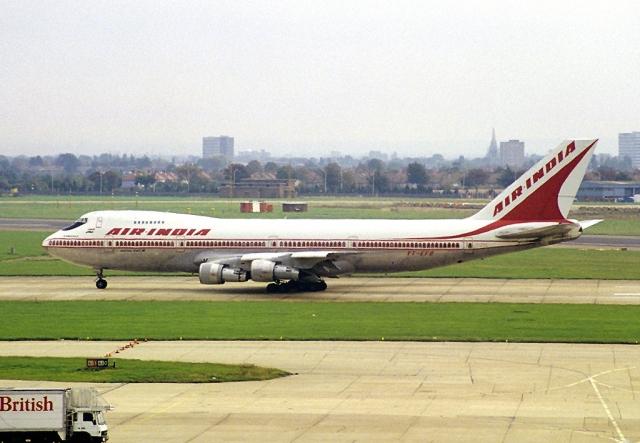 """Boeing 747-237B """"Император Канишка"""" был выпущен в 1978 году (первый полет совершил 19 июня). 30 июня того же года был передан авиакомпании Air-India. Оснащен четырьмя турбореактивными двигателями Pratt & Whitney JT9D-7J."""