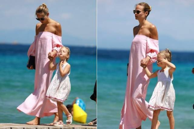 В сентябре 2013 года Наташа Поли родила дочь. Девочку назвали Александрой Кристиной Баккер. Когда малышка научилась ходить, Наташа с дочерью снялась для обложки французского Vogue.