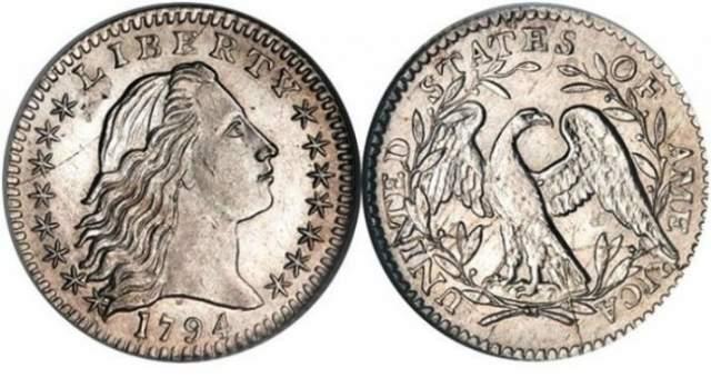 Уникальная монета в ланч-боксе. Отец Роберта Лоуренса работал заместителем начальника монетного двора в Денвере и насобирал за жизнь много разной мелочи, которую он кидал в коробку для ланча.