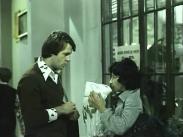 Его роль исполнил Александр Фатюшин. С ним было отснято много материала, например, как они спорили о том, рожать ли им ребенка, или как они уезжали после работы на мотороллере. Но из-за травмы глаза Фатюшин не смог сниматься.
