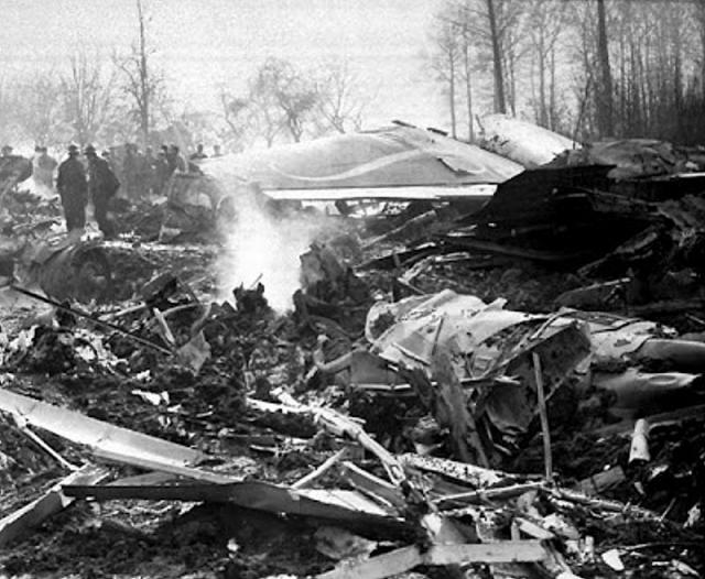 15 февраля 1961 года при посадке в Бельгии разбился Boeing-707 авиакомпании Sabena, совершавший полет по маршруту Нью-Йорк - Брюссель.