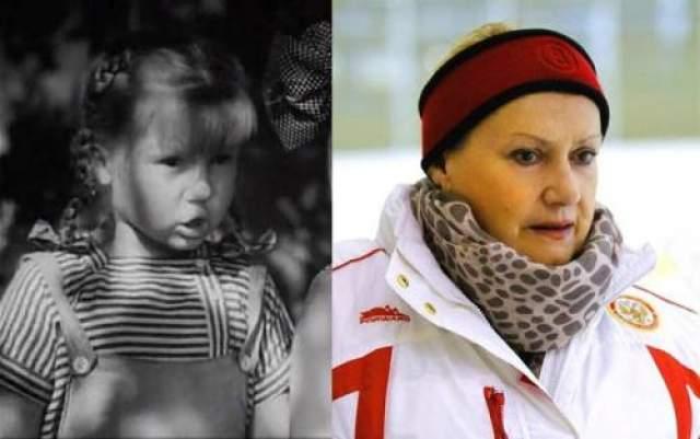 и легендарный тренер по фигурному катанию Елена Чайковская .