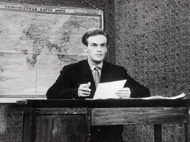 Игорь Кириллов, первые дни в эфире, сентябрь 1957 года