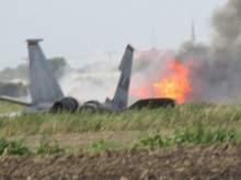 В Алжире разбился военный самолет: около 200 погибших