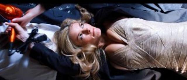 """Мариса Миллер. Американская модель начала киноработу с роли модели в сериале """"Красавцы"""", где девушке не пришлось даже перевоплощаться. Однако публика не заметила молодую """"актрису""""."""