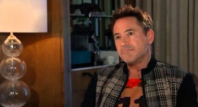 """Роберт Дауни-младший . В рамках промотура фильма """"Мстители: Эра Альтрона"""" актер давал множество интервью, одно из них развивалось по стандартному сценарию, но после нескольких вопросов о фильме журналист Channel 4 решил задать вопросы на запретные темы"""