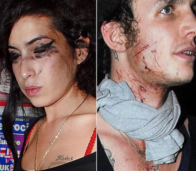 Спустя несколько месяцев после свадьбы пара затеяла драку прямо на улице, из-за того, что певица употребляла наркотики прямо на улице вместе с девушкой по вызову.