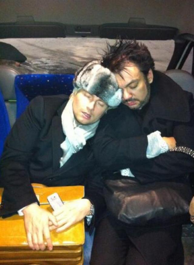 ...заснуть с Киркоровым в машине.