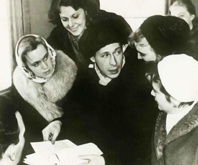 Олег Ефремов и Лилия Толмачева. Театр Современник был жизнью для обоих актеров.