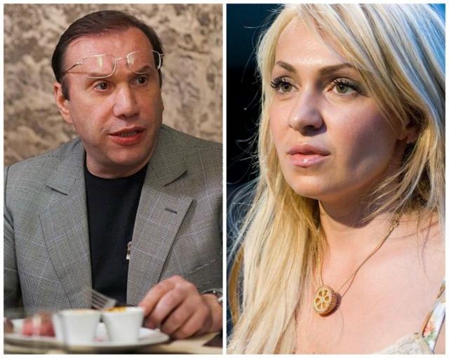 Виктор Батурин и Яна Рудковская. Брак бизнесмена с продюсером распался конце апреля 2008 года.