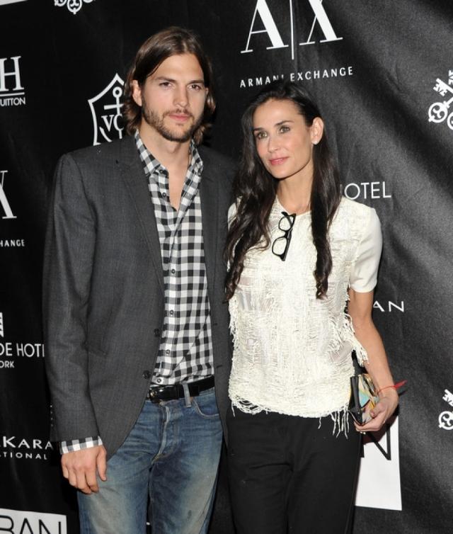 Деми Мур. О конфликте в семье актрисы и Эштона Кутчера заговорили в конце сентября 2011 года.