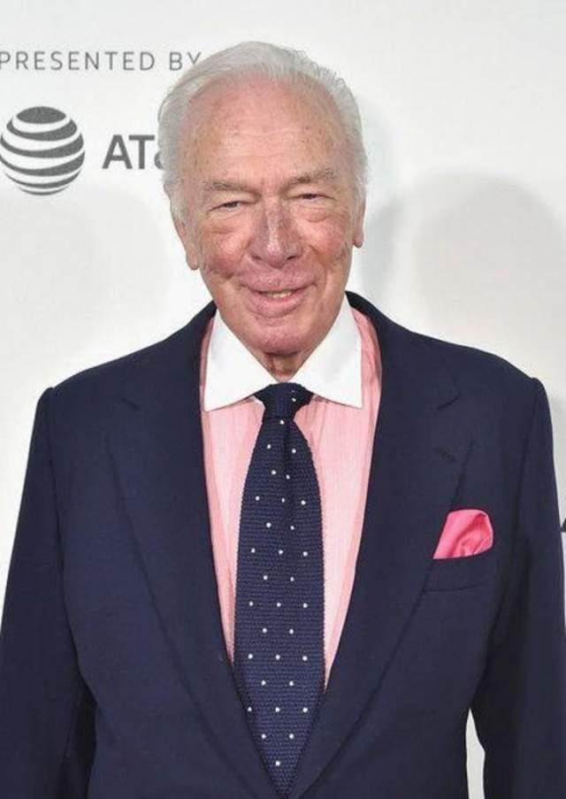 """Кристофер Пламмер, 89 лет Кристофер родился 13 декабря 1929 года. Его карьера началась с фильма """"Очарованная сценой"""" (1958 год) и продлилась больше 5 десятилетий."""