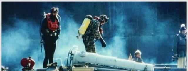 Это ему дорогого стоило: на поверхность было поднято бездыханное тело. Полиция неопровержимо доказала, что шланг для подачи воздуха с поверхности был кем-то под водой перерезан.
