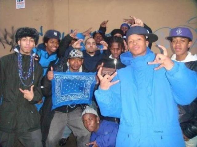 Crips - банда, появившаяся из банды 16-летних мальчишек, пугавших прохожих. На данный момент она представляет собой одну из крупнейших преступных организаций в мире.