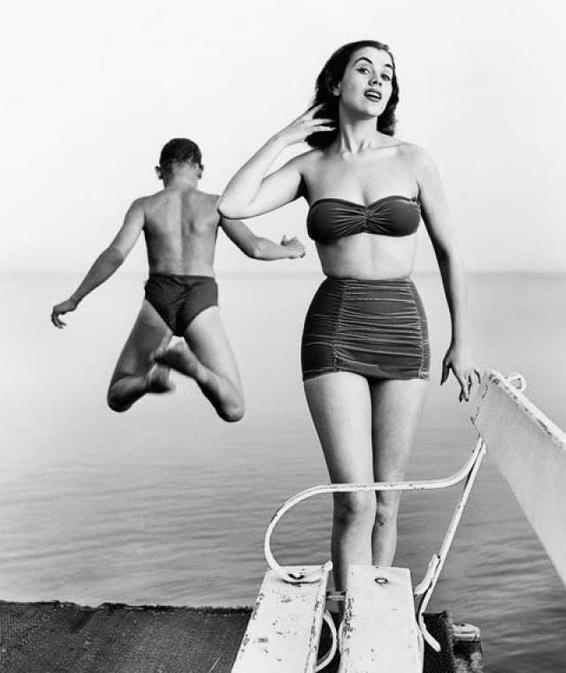 "Керстин ""Кикки"" Хаконссон (Швеция) - Мисс мира 1951."