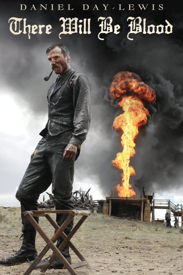 """""""Нефть"""" . Оригинальное название картины """"There will be blood"""" переводится как """"И будет кровь""""."""