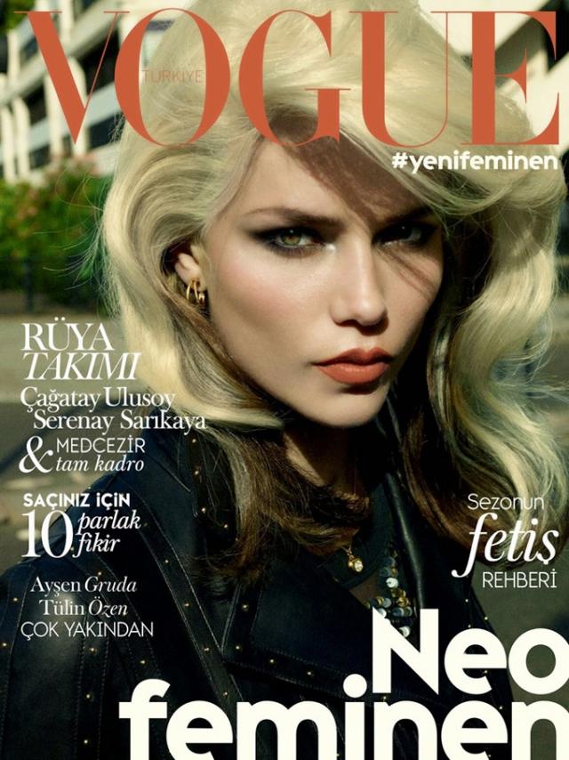 С тех пор Наташа украшала обложки Harper's Bazaar, Vogue, ELLE и Glamour.