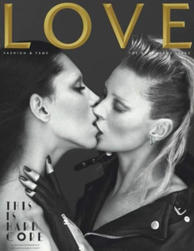 Уже будучи девушкой, Леа стала лицом Живанши, попадала на страницы парижского Vogue, а однажды даже поцеловала Кейт Мосс - для обложки Love Magazine.