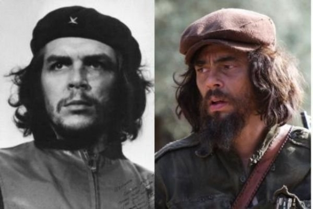 Че Гевара и Бенисио дель Торо , Че.