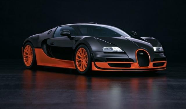 Bugatti Veyron - $2 550 000. На разгон до 100 километров в час автомобиль тратит 2,5 секунды, а максимальная скорость, которую он развивает составляет 431 километра в час.