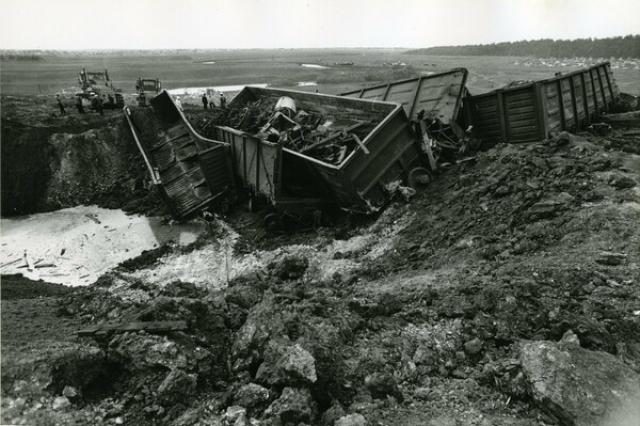 Страшный по силе взрыв уничтожил 151 дом, свыше 800 семей потеряли кров. Было разрушено четверть километра железнодорожного полотна, разрушены линии электропередач, электроподстанция, поврежден газопровод и железнодорожный вокзал.