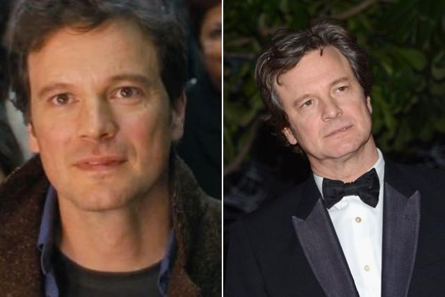 Колин Ферт. 55-летнему актеру годы ни по чем.