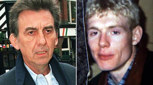 """Спустя годы после распада группы, в 1999 году, едва не убили Джорджа Харрисона - в его дом в Оксфордшире ночью проник человек и ударил бывшего """"битла""""ножом в грудь."""