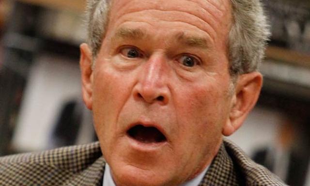 """Многие фразы из выступлений 43-го Президента США Джорджа Буша-младшего, особенно его импровизированные речи, получили название """"бушизмы"""". Они и стали примером того, что президент далеко не блистает интеллектом."""