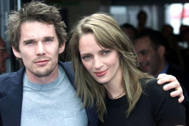 Итан Хоук. Актер был женат на Уме Турман с мая 1998 по 2005 год, с которой они воспитывали двоих детей.